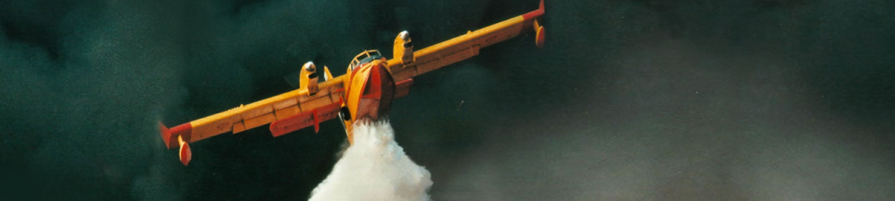 CL-415 waterbomber